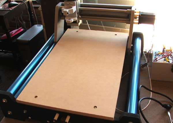 cnc machine table top