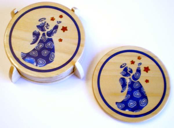 Angel Coasters