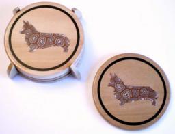 Corgi Coasters