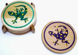 Lizard Coasters