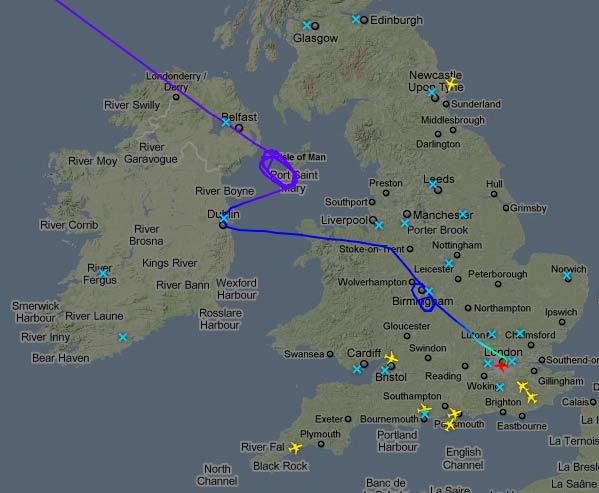British Airways BA84